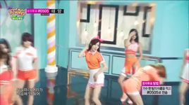 short hair (140621 music core) - aoa