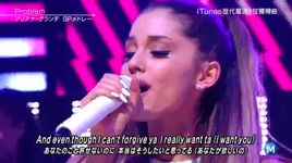 baby i, problem (live at music station japan 2014) - ariana grande