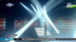 eyes, nose, lips (140622 inkigayo) - tae yang (bigbang)