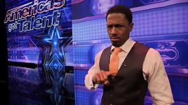 magician plays russian roulette game with mel b (america's got talent 2014 - audition) - rogue - v.a