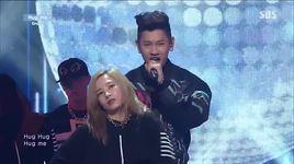 hug me (140706 inkigayo) - crush, gaeko (dynamic duo)