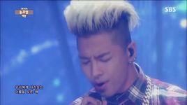 eyes, nose, lips (140706 inkigayo) - tae yang (bigbang)