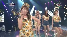 oppa, you are mine (140711 music bank) - tahiti
