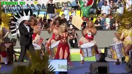 la la la (2014 fifa world cup final closing ceremony) (vietsub, kara) - shakira, carlinhos brown