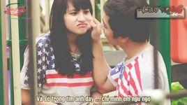 couple ngu ngo (lyrics) - tuan kuppj, kim joon shin