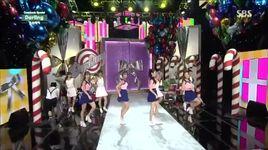 look at me & darling (140720 inkigayo) - girl's day