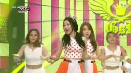 darling (140801 music bank) - girl's day