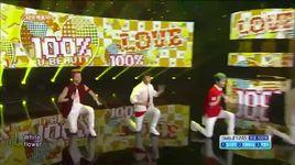 u beauty (140727 inkigayo) - 100 %