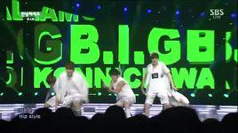 hello (140803 inkigayo) - b.i.g