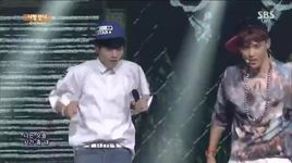let's love (140803 inkigayo) - c-clown