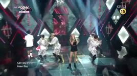 can you hear me (140815 music bank) - lucky j