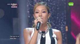 can you hear me (140822 music bank) - lucky j