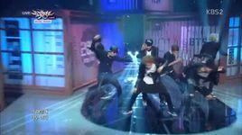 danger (140822 music bank) - bts (bangtan boys)