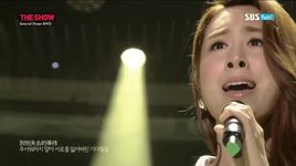 agape (140819 sbs the show) - zhang li yin