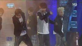 danger (140824 inkigayo) - bts (bangtan boys)