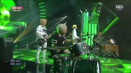get out (140824 inkigayo) - say yes