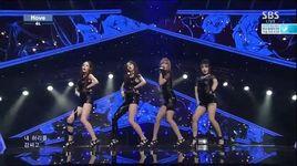 move (140914 inkigayo) - 4l (four ladies)