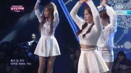 i don't want you (140914 inkigayo) - t-ara