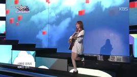 i think i'm in love (141003 music bank) - juniel