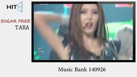 sugar free (140926 music bank) - t-ara