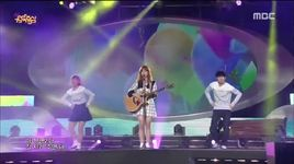 i think i'm in love (141004 music core) - juniel