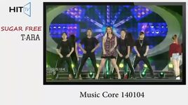 sugar free (141004 music core) - t-ara