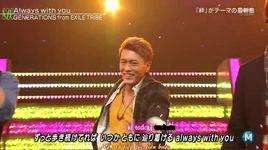 always with you (140905 music station) (vietsub, kara) - generations