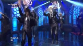 white out & witch (141010 music bank) - boyfriend