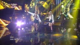 holler (141010 music bank) - taetiseo