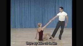 back drop to split - dancesport