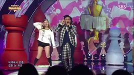 phone in love(141019 inkigayo) - almeng
