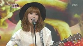 i think i'm in love (141031 music bank) - juniel