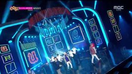 falling in love (141108 music core) - uniq