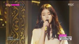 when would it be (141108 music core) - iu, yoon hyun sang