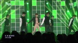 rewind (141109 inkigayo) - zhou mi (super junior-m)