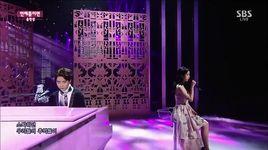 when would it be (141109 inkigayo) - iu, yoon hyun sang