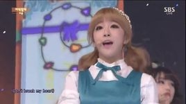 what about you (141109 inkigayo) - laboum