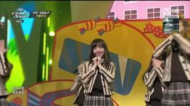 goodbye chapter 1 & candy jelly love (141113 m countdown) - lovelyz