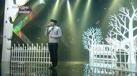 at gwanghwamun (141114 music bank) - kyu hyun (super junior)