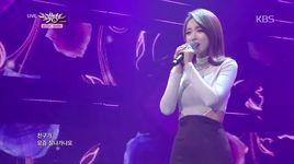 cheer up (141114 music bank) - hong jin young