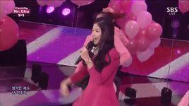 mr. chu (141116 inkigayo) - kim yoo jung