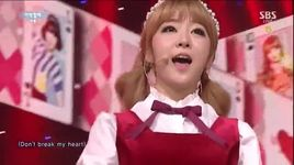 what about you (141116 inkigayo) - laboum