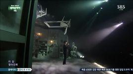 at gwanghwamun (141116 inkigayo) - kyu hyun (super junior)