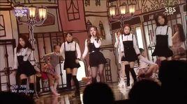 i'm different (141116 inkigayo) - lee hi, soo hyun (akdong musician)