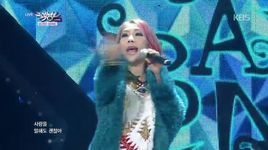 snow love (141128 music bank) - yery band