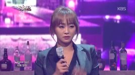 erase (141121 music bank) - hyorin (sistar), joo young