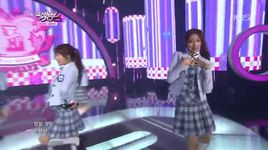 candy jelly love (141121 music bank) - lovelyz