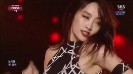 mama (141123 inkigayo) - nicole jung