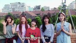 t-ara gui loi chao den fan viet truoc them minishow ngay 10/1 - t-ara