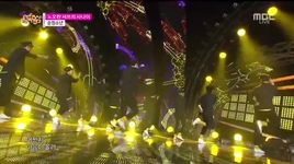 yellow shirt (141206 music core) - pure boy